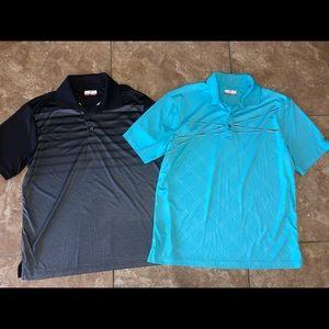 Men's large grand slam golf shirts